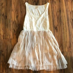 Cream Dress. Size medium.
